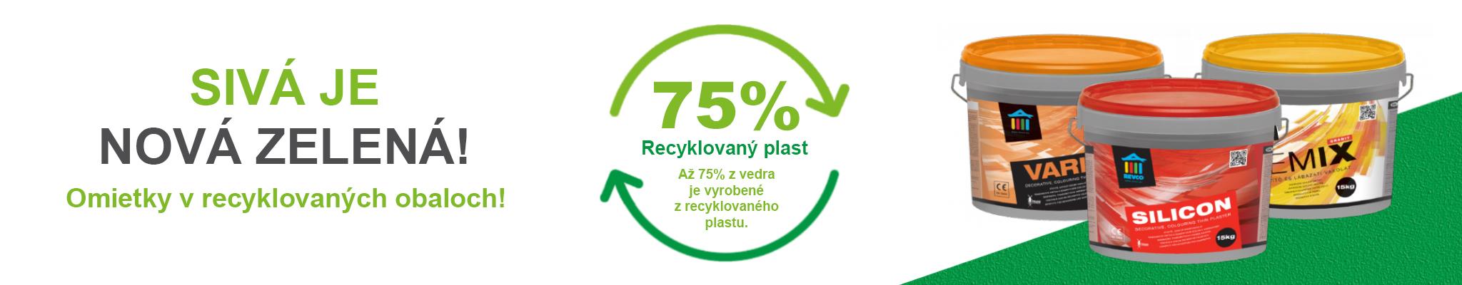 EKO - recyklované obaly