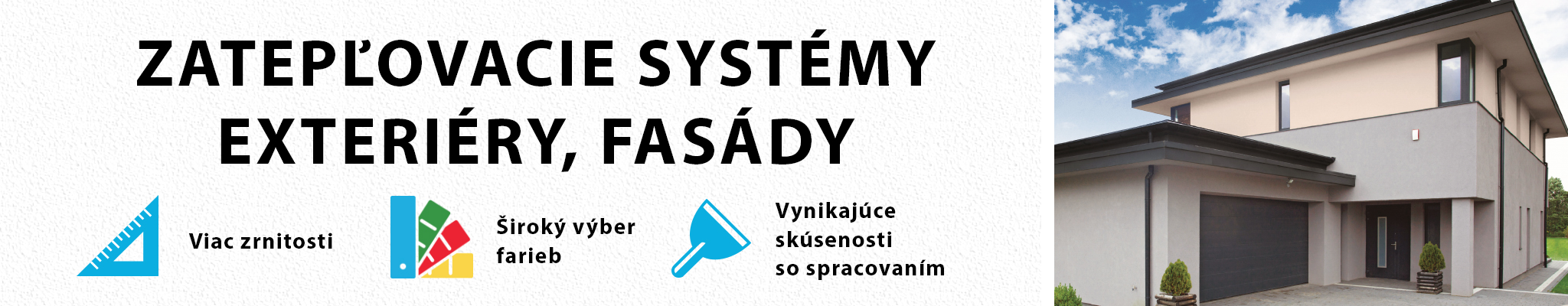 Zatepľovacie systémy