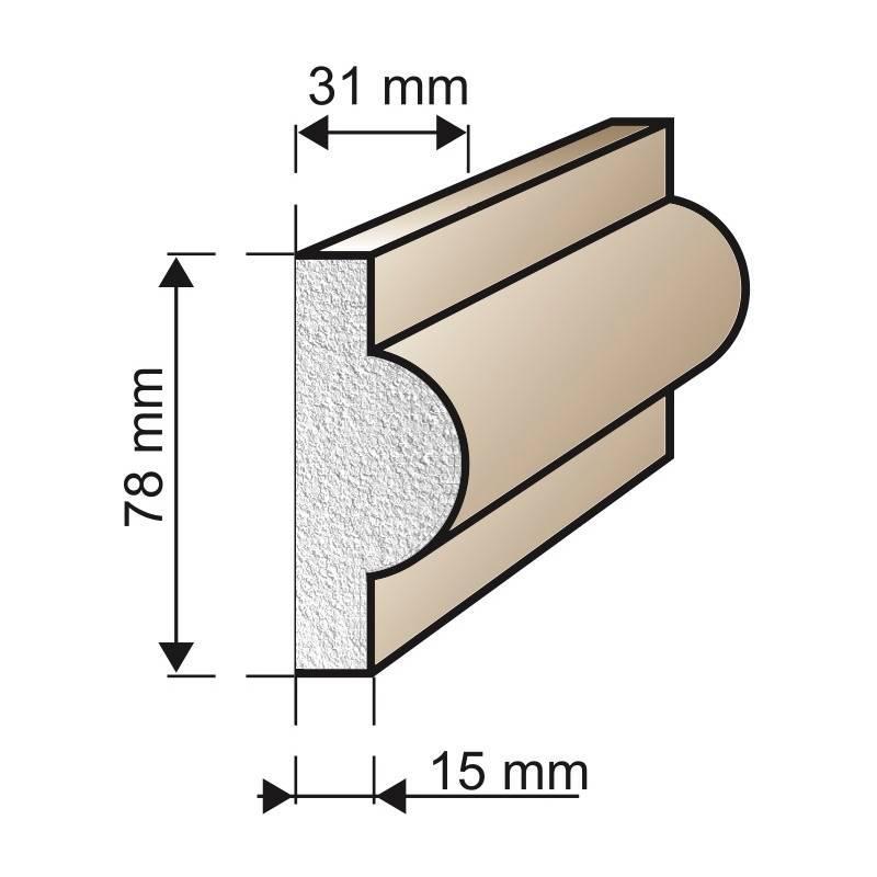 Špaleta A16