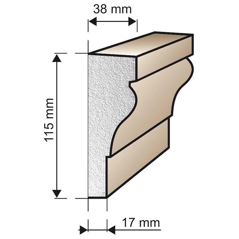 Špaleta A18